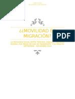 Movilidad-Migración