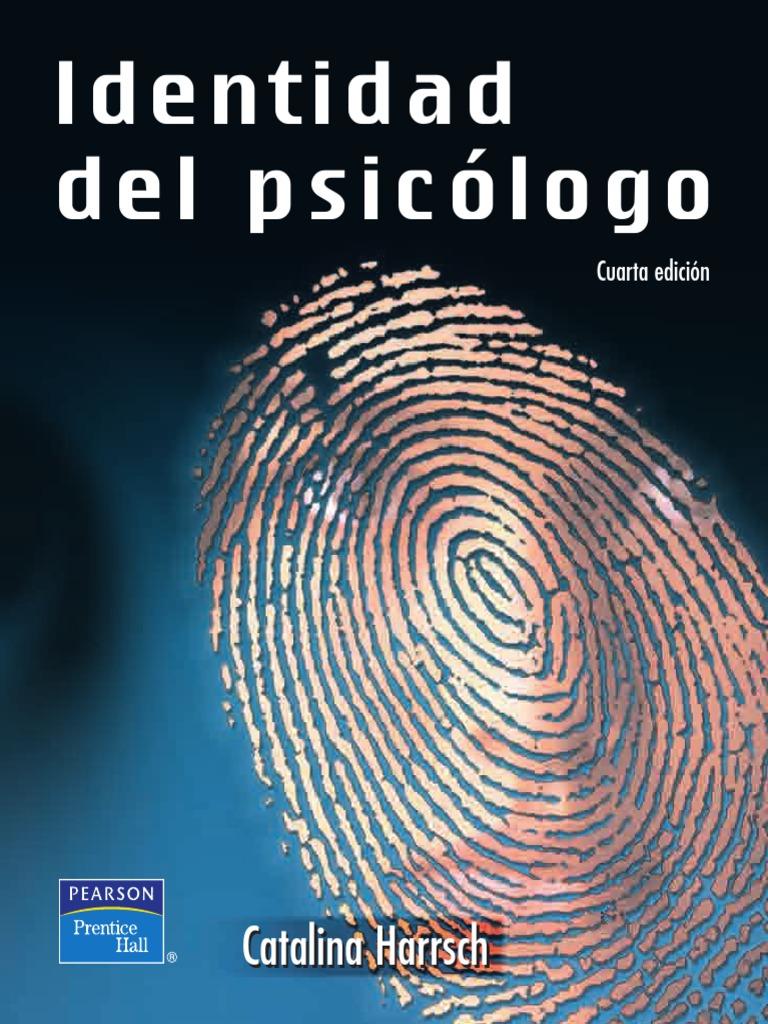 Identidad del psicólogo. PDF
