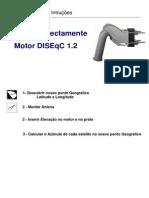 Manual Instrucoes MOTOR DISEqC 1.2