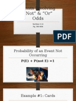 events involving not and or
