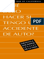 Accident Spanish