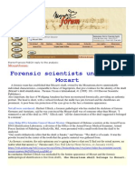 Mozartforum-Forensic Scientists Uncovering the Skull of Mozart