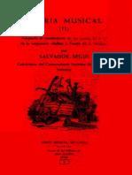 Teoría musical II, Salvador Seguí