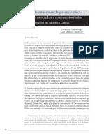 escenarios de emisiones de gases de efecto invernadero asociados a combustibles fosiles y cemento en america latina