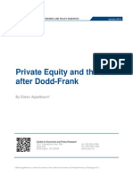 Pe Dodd FrankPrivate Equity and the SEC after Dodd-Frank 2015 01