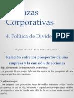 4. Politica de Dividendos
