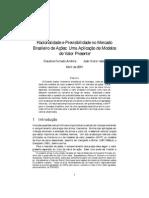 Claudine Furtado Anchite - Racionalidade e Previsibilidade No Mercado Brasileiro de Ações
