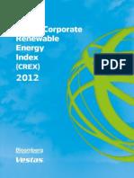 2012-09-14 - Global Corporate Renewable Energy Index (CREX) 2012