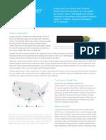 Google Fiber One Pager Jan 2015