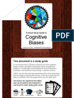 Cognitive Biases a Visual Study Guide by the Royal Society of Account Planning VERSION 1