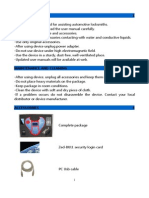 Zed BULL User Manual