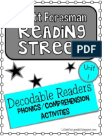 Reading street unit 1 Decodable 1; first grade