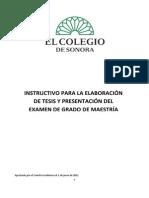 Instructivo tesis