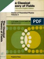LandauLifshitz - ClassicalTheoryOf Fields