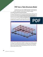3d pdf tekla