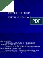 Curs Ergonomie stomatologica