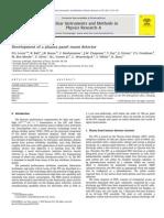 Development of a Plasma Panel Muon Detector