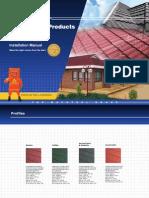 Instruction Manual Harvey Tile Roof