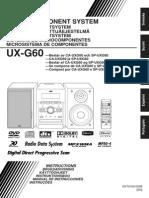 Manual Jvc Ux-g60