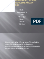 ppt PERKEMBANGAN NILAI, MORAL, DAN SIKAP Perkembangan.pptx