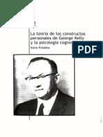 Teoria de Los Constructos Personales Kelly