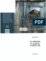 Grun Anselm La Redencion Su Significado en Nuestra Vida