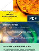 Role of Microbes in Bioremediation