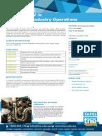 UEG40114 Cert IV Gas Supply Industry Operations