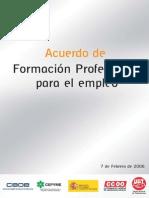 Acuerdo de Formación Profesional Para El Empleo. Bibliografia Complementaria para Docentes de Educación Técnica Productiva - CETPRO. Lic. José Antonio Peñafiel Vásquez