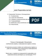 Tratamento Termico e Termoquimico