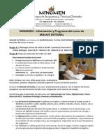Programa M. Integral (Enero 2015)