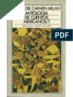 Antología de cuentos mexicanos 1