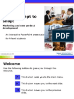 Marketing and New Product Development