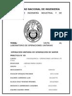 Informe de o.u Caldero