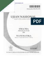 Naskah Soal UN Matematika SMA IPS 2014 Paket 1.pdf