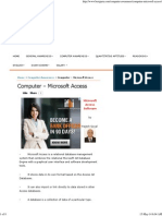Microsoft Access - new verson