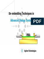 Agilent ADS Deembed