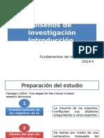 Introducción Diseños de Investigación
