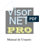 Manual de Usuario VisorNET PRO