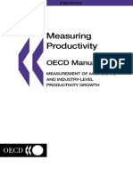 OECD_Manual Measuring Productivity