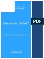 U.S. Attorney's Office year-end report