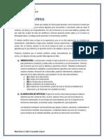 Metodo Cientifico - Proyecto Terminal I - Primer Parcial