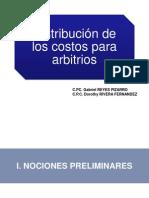 Distribucion de Los Costos Arbitrios