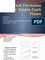Module 6_Single Cash Flow Formulas