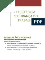 Disciplina Legislação e Normas Apostila Reduzida PRAO 20121020