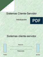 cliente servidor