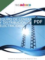 distribucion y generacion electrica en mexico