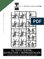 Estructura Dramatica Trama Jose Luis Alonso de Santos