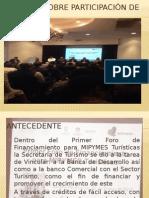 Informe Sobre Participación de Foro