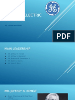 General Electric PowerPoint